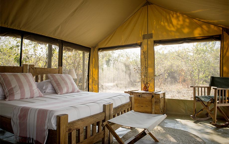 Rustic Kigelia Camp in Tanzania