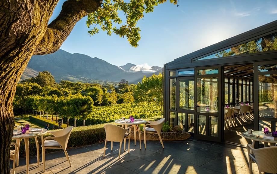 Beautiful Gardens at Luxury Leeu Estates