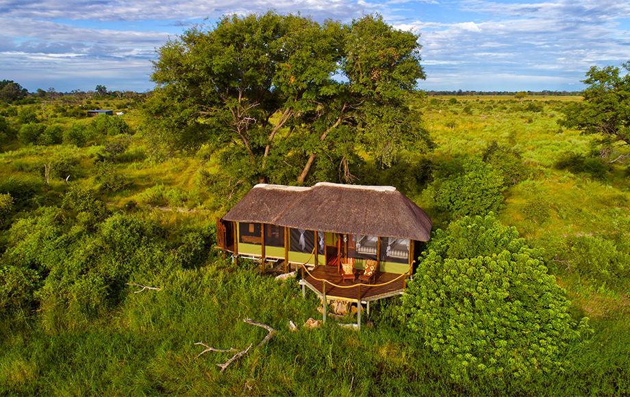Mapula Lodge in the Okavango