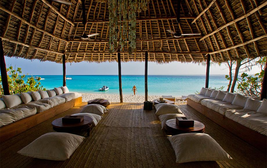 Mnemba Island Lodge in Zanzibar
