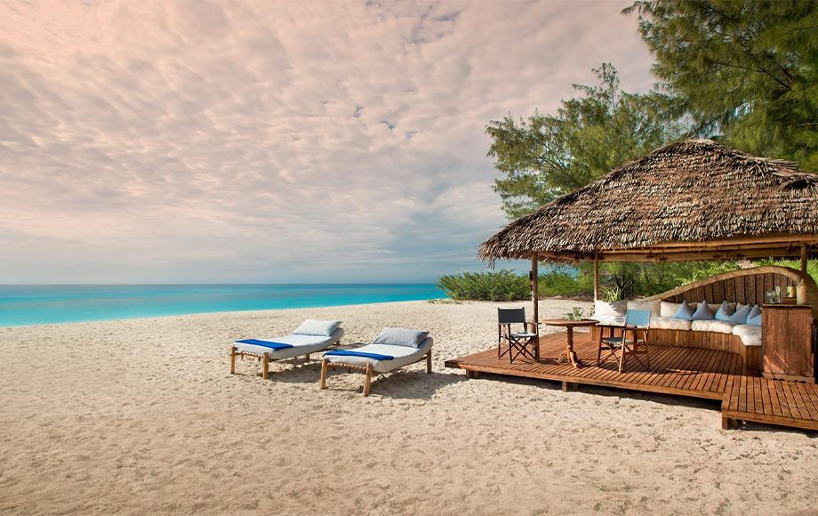 Luxury Mnemba Island Lodge in Zanzibar
