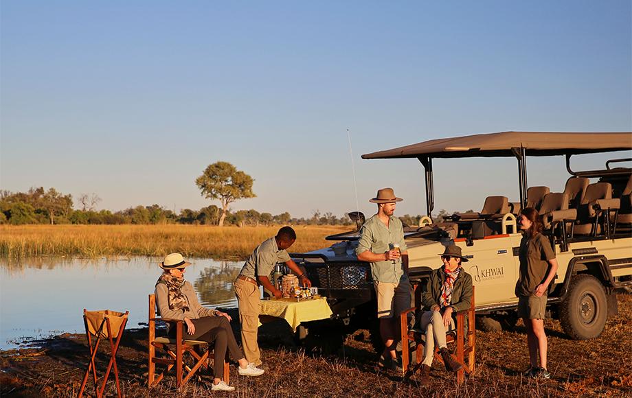 Safari Sundowners at Tuludi