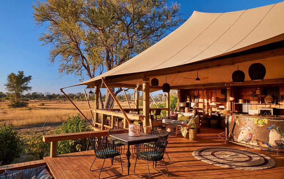 Tuludi Camp in Botswana