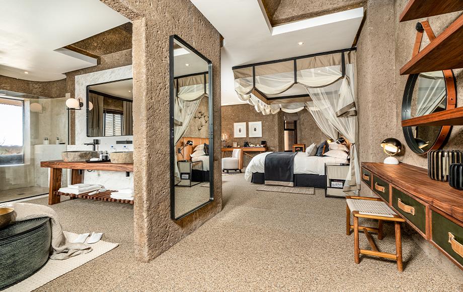 Luxury Sabi Sabi Earth Lodge in South Africa
