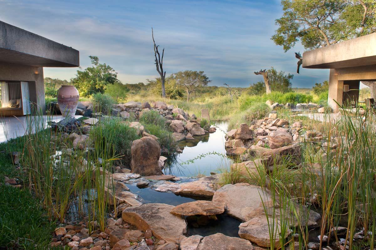 Sabi Sabi Earth Lodge in South Africa