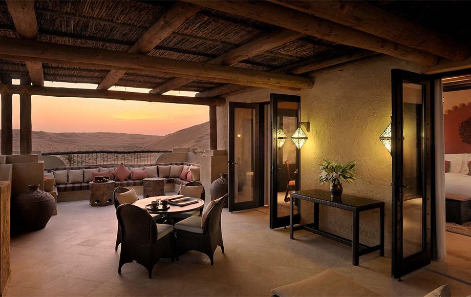 Qasr Al Sarab Resort in the United Arab Emirates