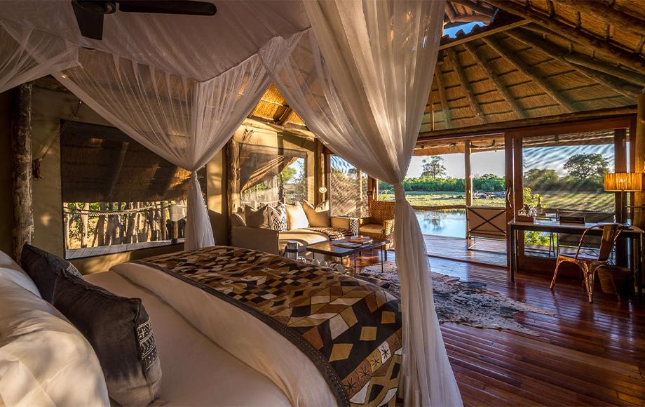 Savuti Camp in Botswana