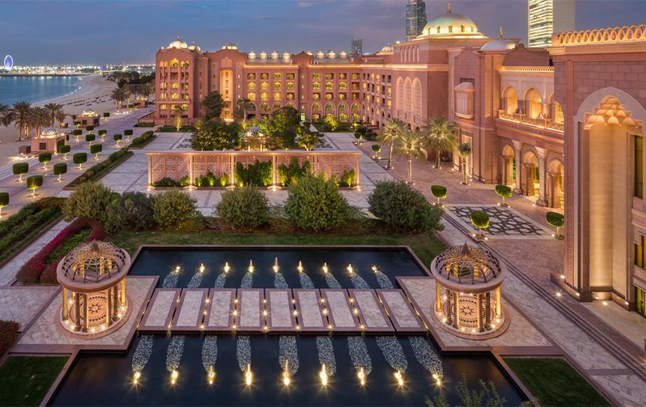 Emirates Palace Kempinski terrace
