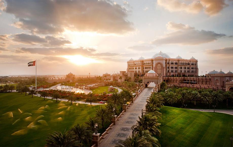 Emirates Palace Kempinski exterior