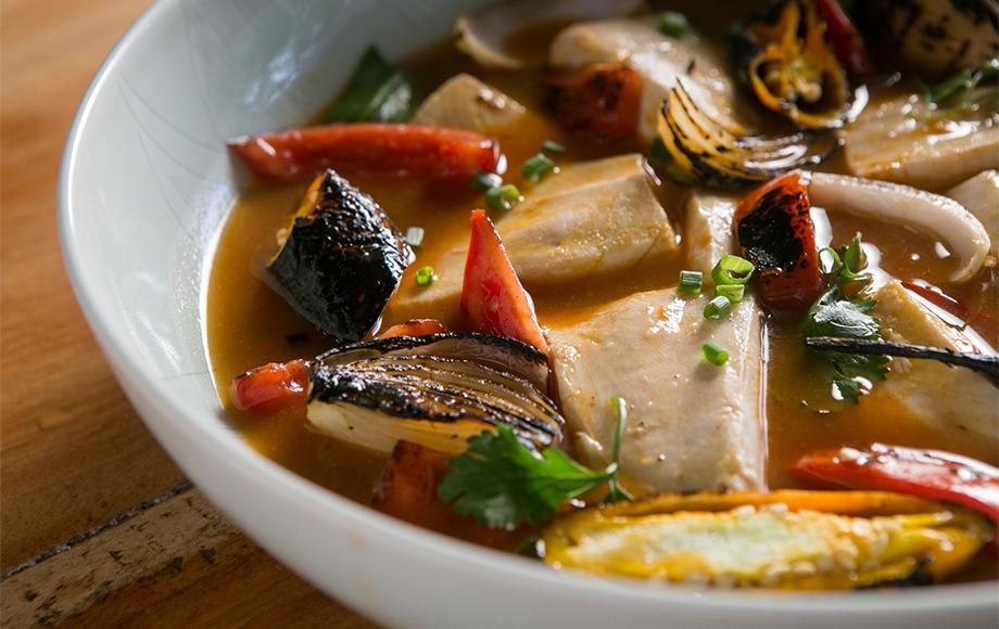 Soup on the Aqua Nera