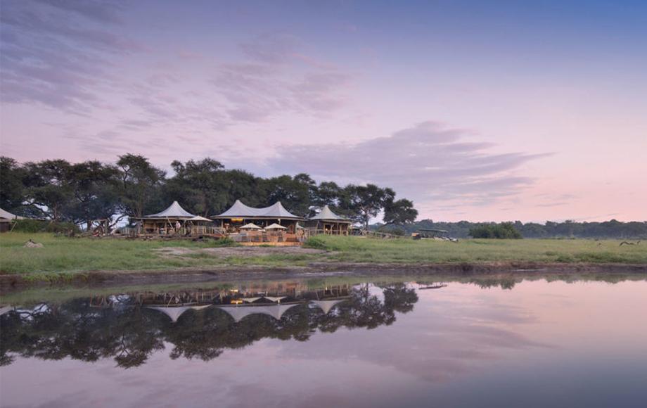 Luxury Somalisa Camp in Hwange National Park in Zimbabwe