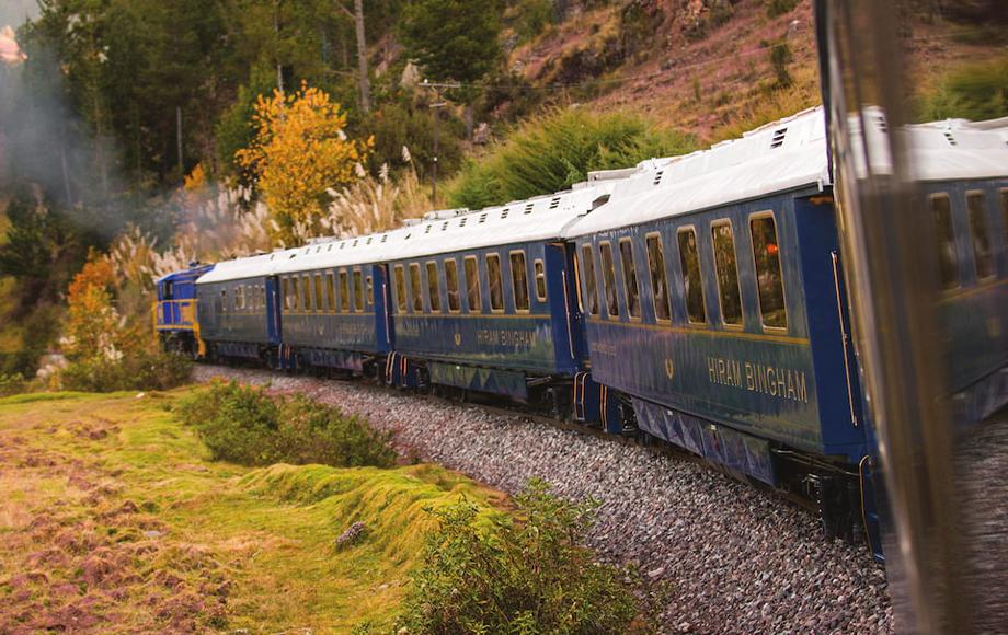 Belmond Hiram Bingham Train to Machu Picchu