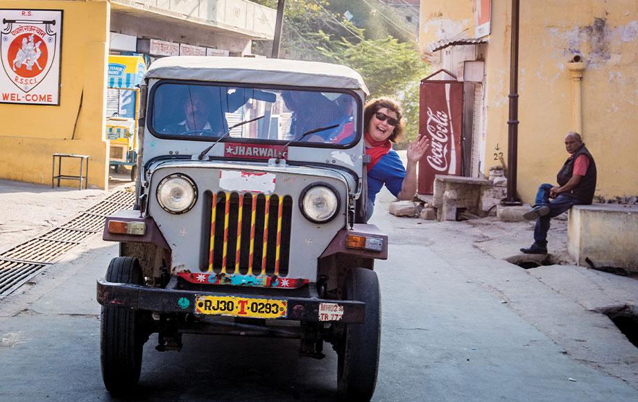 Annie in India