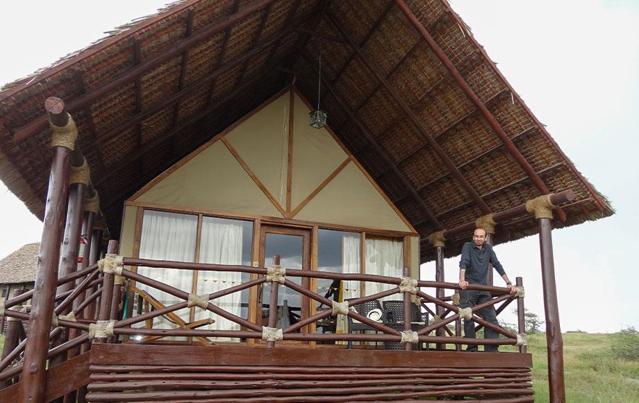 Hany in Tanzania