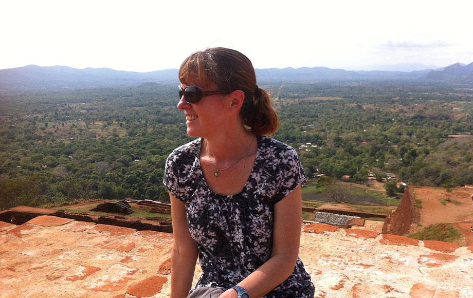 Kate in Sri Lanka