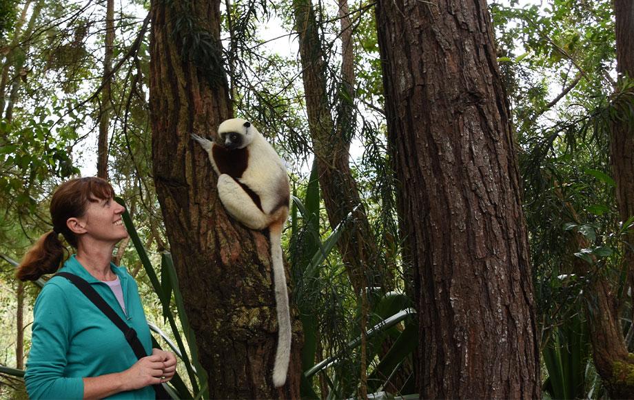 Kate in Madagascar