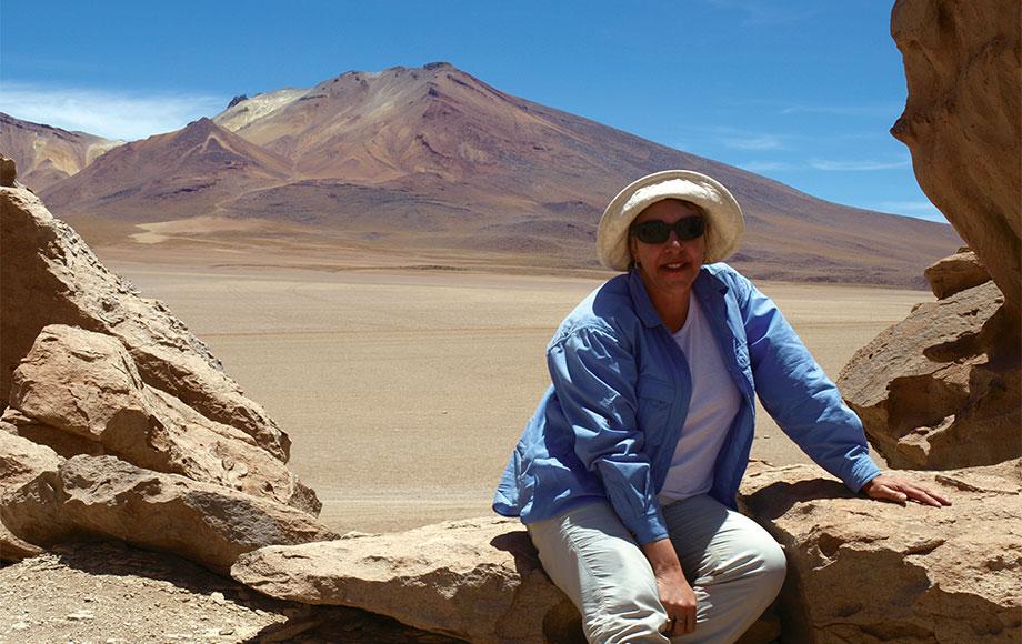 Taleen at the Atacama Desert in Chile