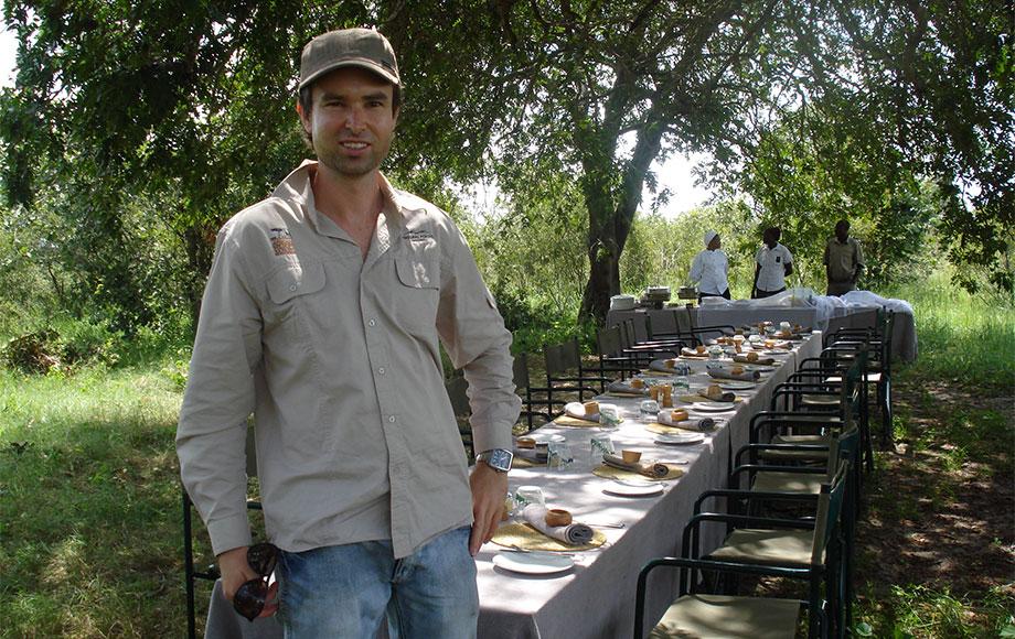 Michael in Tanzania