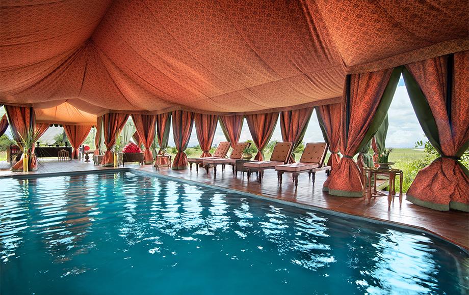 Jack's Camp swimming pool