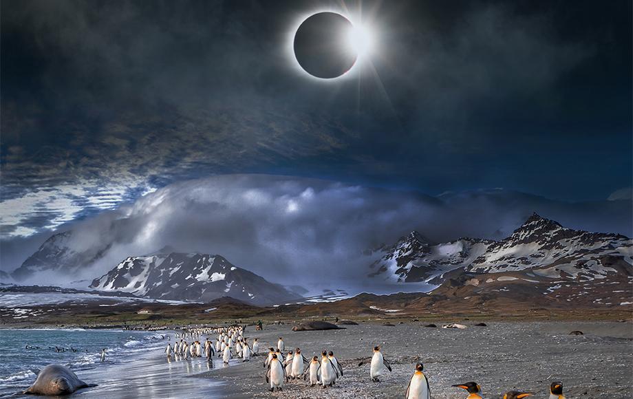 The Solar Eclipse in Antarctica