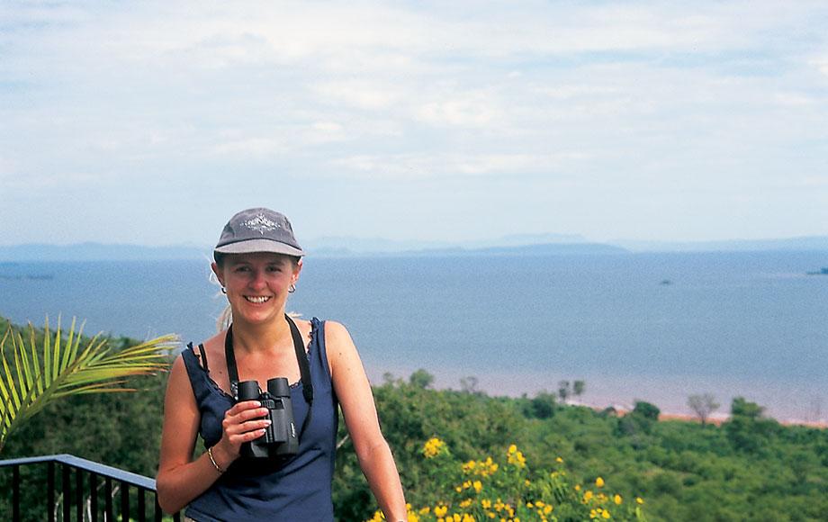 Carolyn in Africa