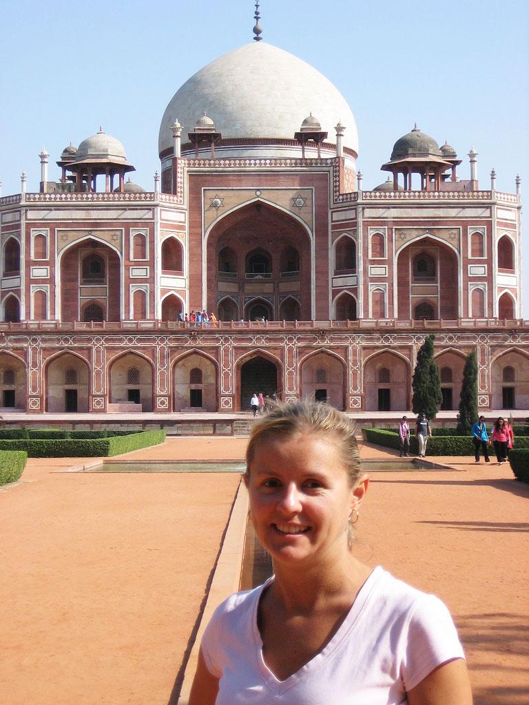 Carolyn in India