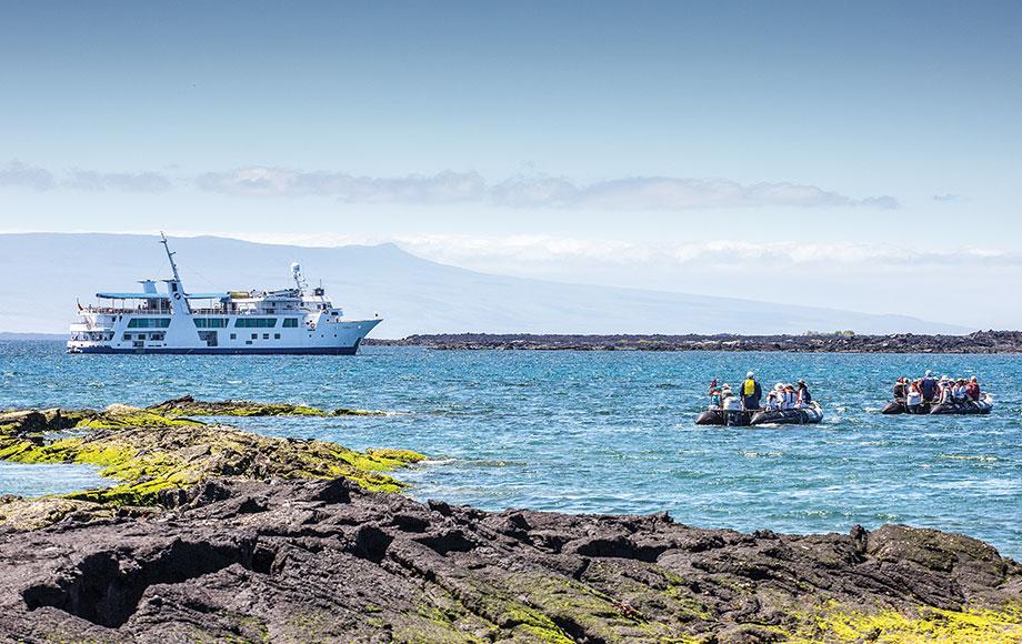 Cruising in the Galapagos Islands