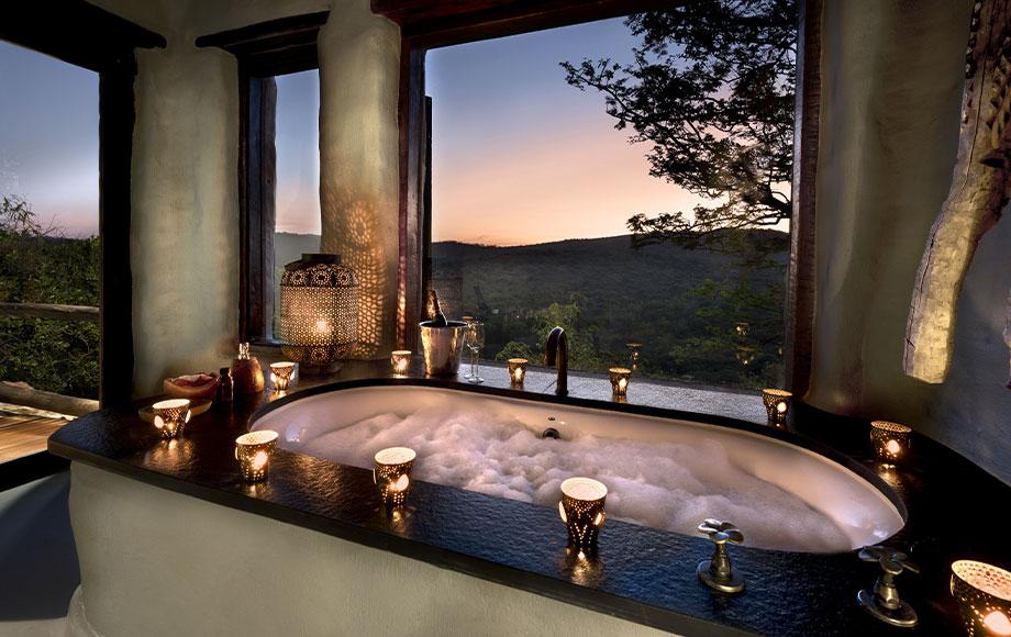 Phinda Rock Lodge Bath