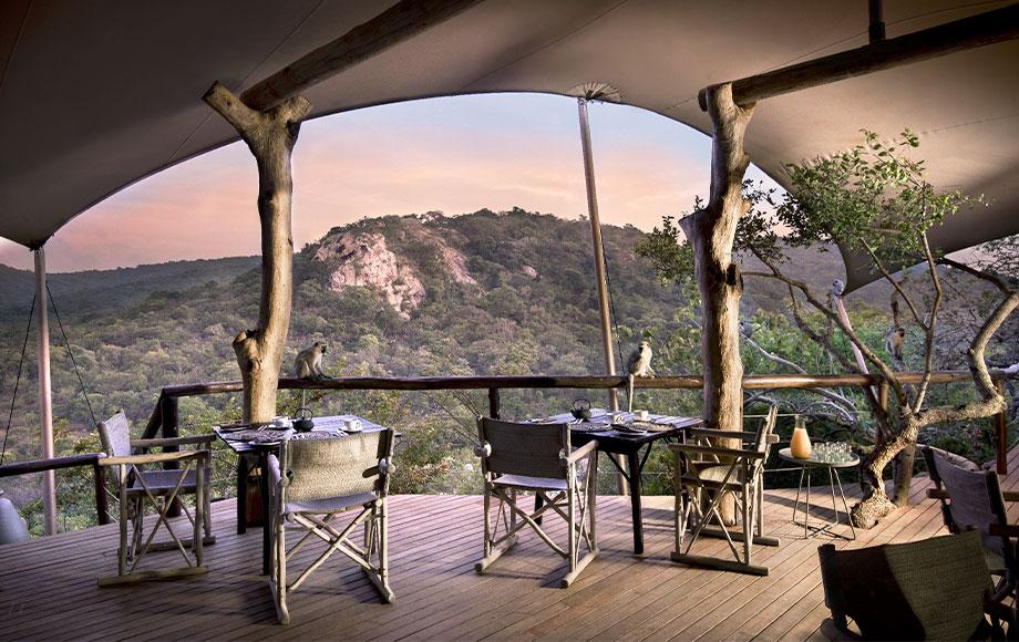 Phinda Rock Lodge Main Lodge