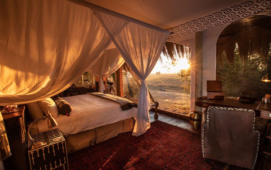 Selinda Camp Suite in Botswana