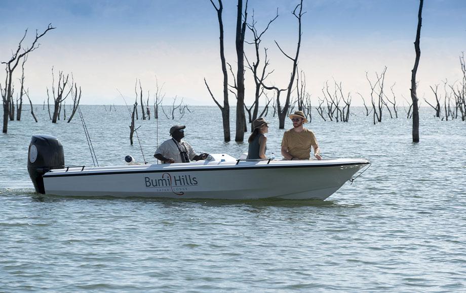 Boat excursion on Lake Kariba at Bumi Hills Safari Lodge