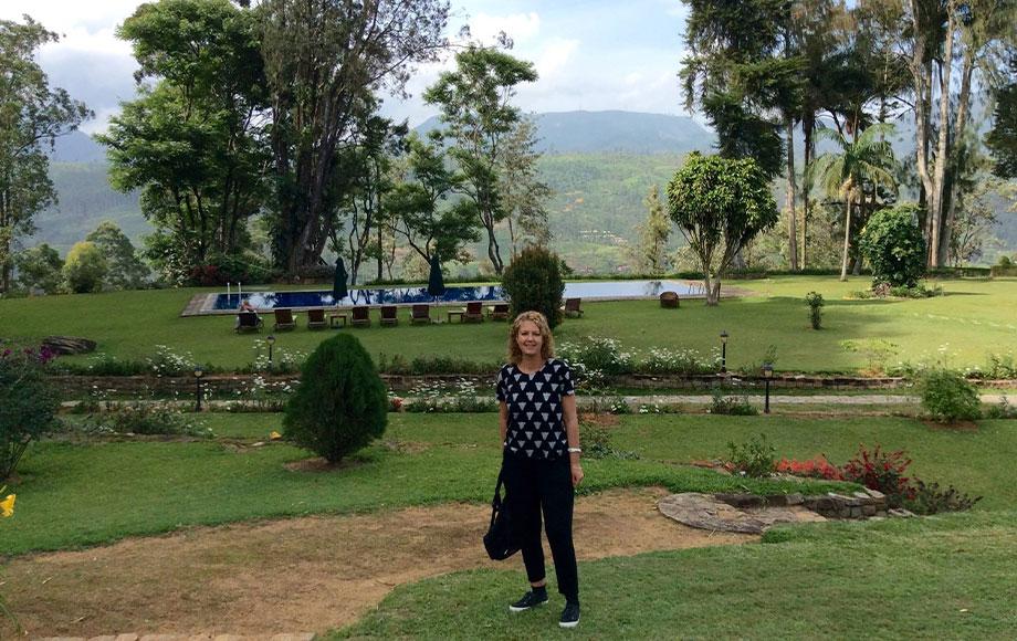 Anna at Ceylon Tea Trails in Sri Lanka