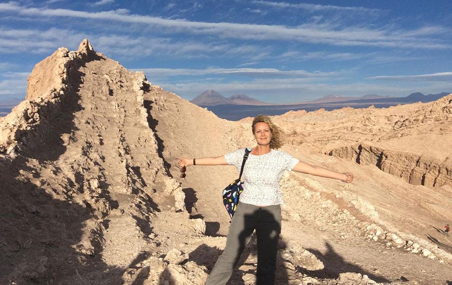 Anna in the Atacama Desert