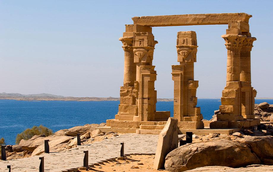 Temple of Kalabchah in Aswan