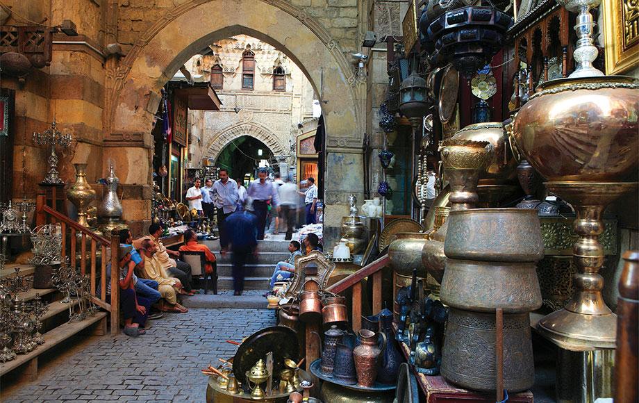 Cairo and the Khan-El-Khalili Souk