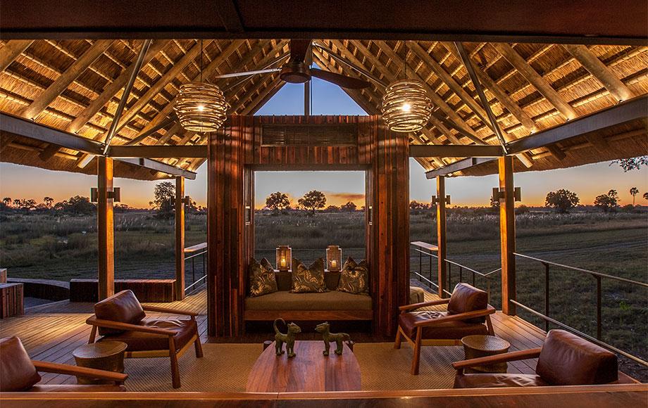 Chitabe Camp Lounge