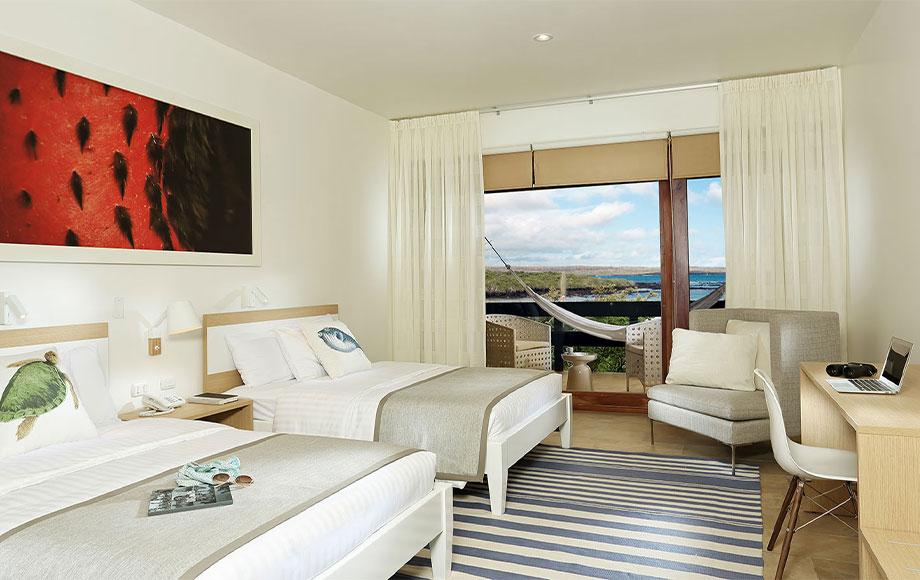 Finch Bay Hotel Bedroom