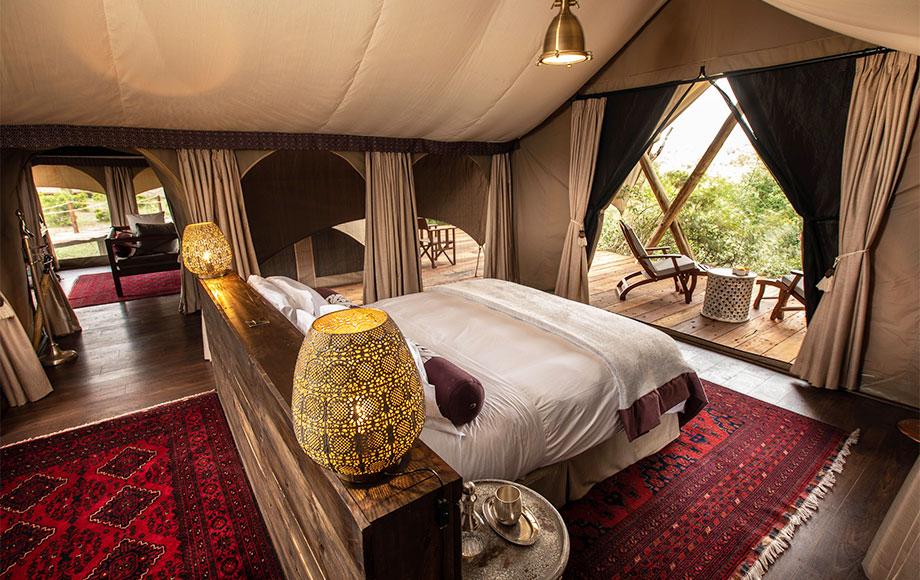 Mara Nyika Camp Luxury Suite