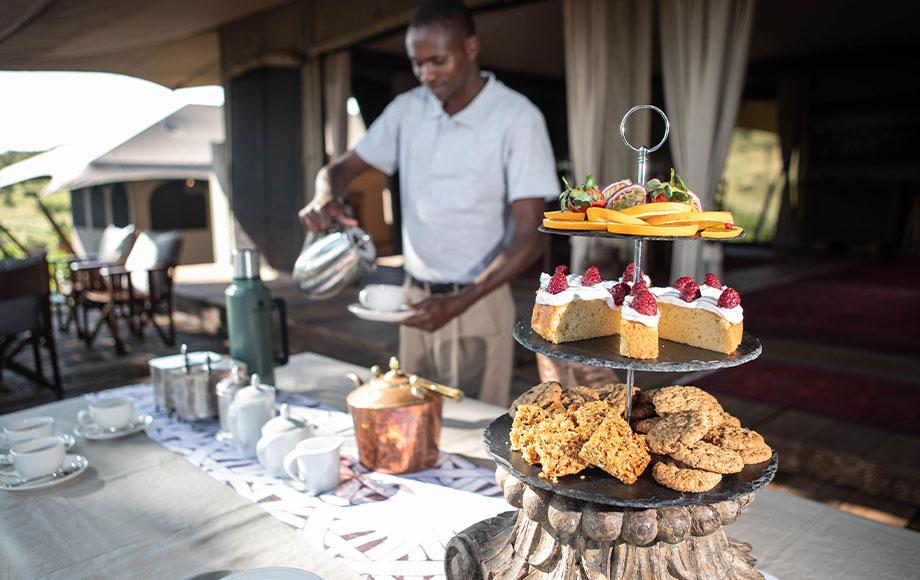 Mara Nyika Camp Breakfast