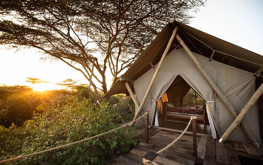 Mara Nyika Camp Tent Suite