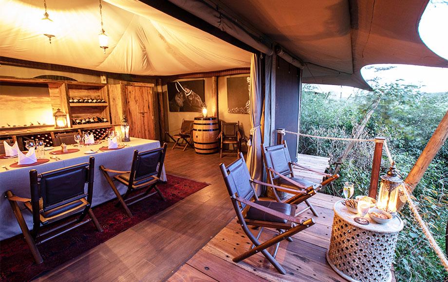 Luxury Mara Nyika Camp