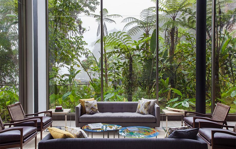 Mashpi Lodge Lounge Room