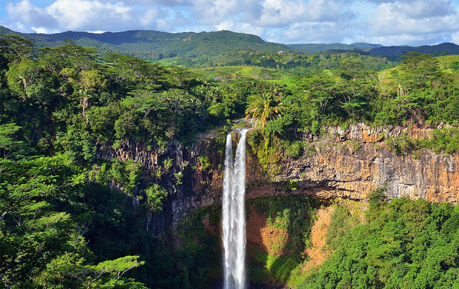 Mauritius Chamarel Waterfall