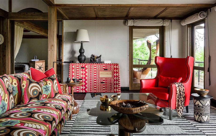 Xigera Safari Lodge Dining Room