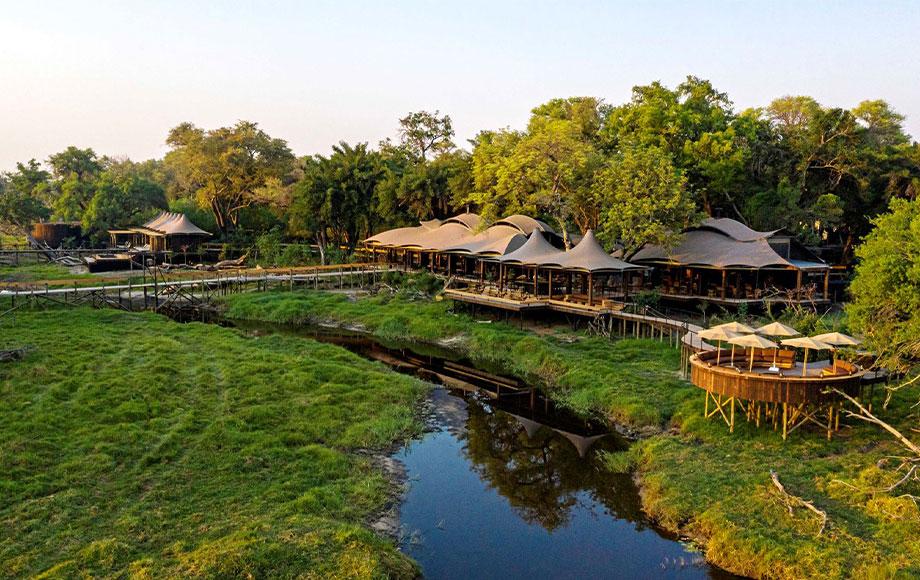 Xigera Safari Lodge in the Okavango Delta