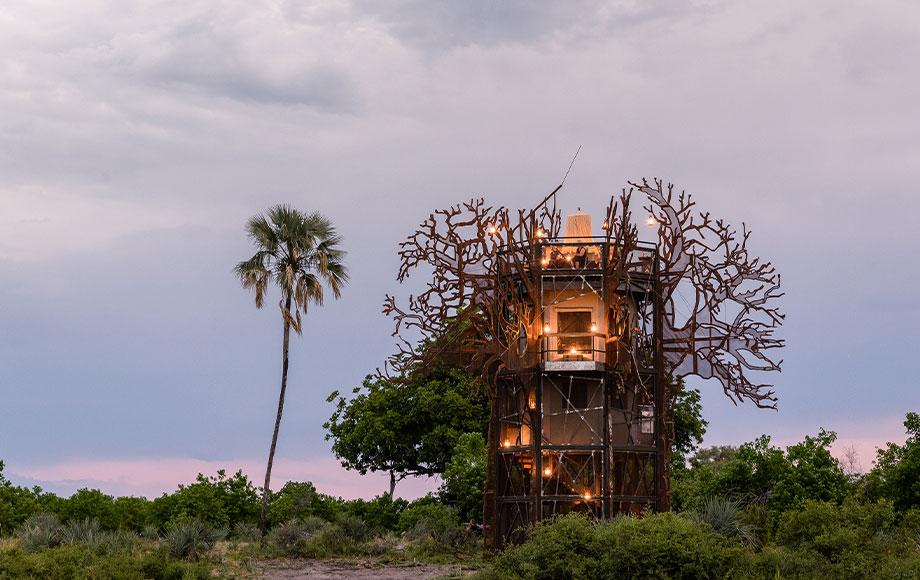 Xigera Baobab Tree House