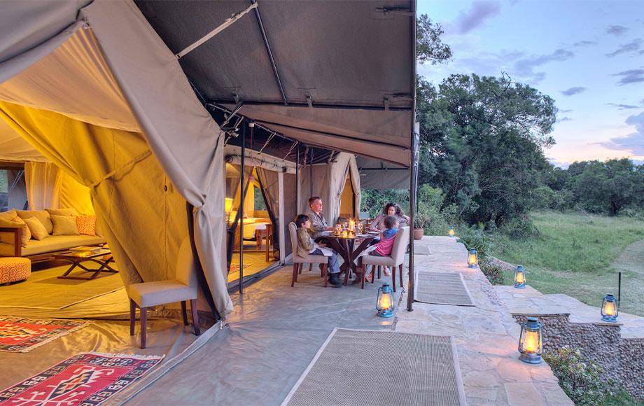 Kicheche Mara Camp Family Tent