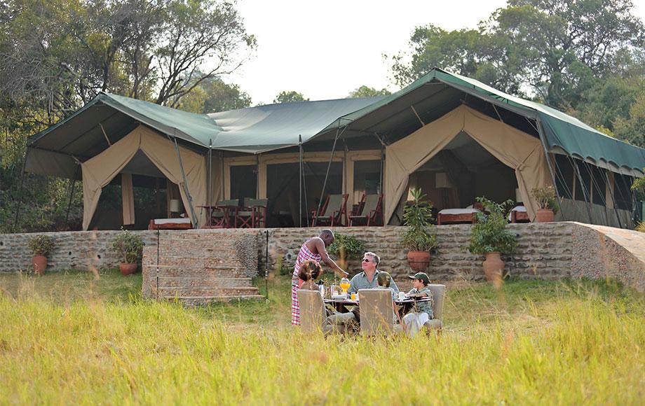 Kicheche Mara Camp Breakfast