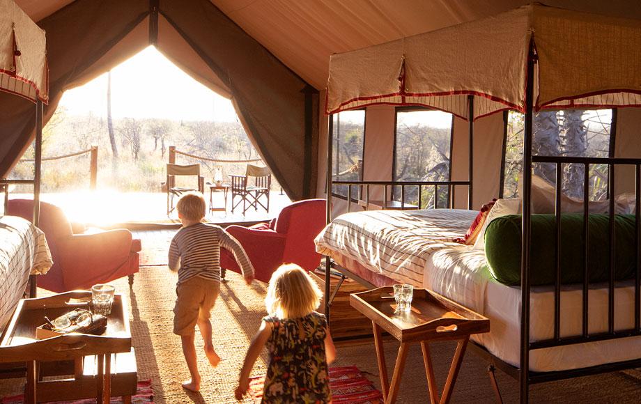Camp Kalahari Kids in Camp