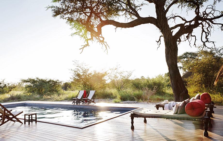 Camp Kalahari Swimming Pool